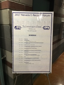 2017 Nevada E-Records Forum