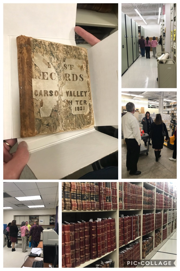 2018 Nevada State Archives Tour