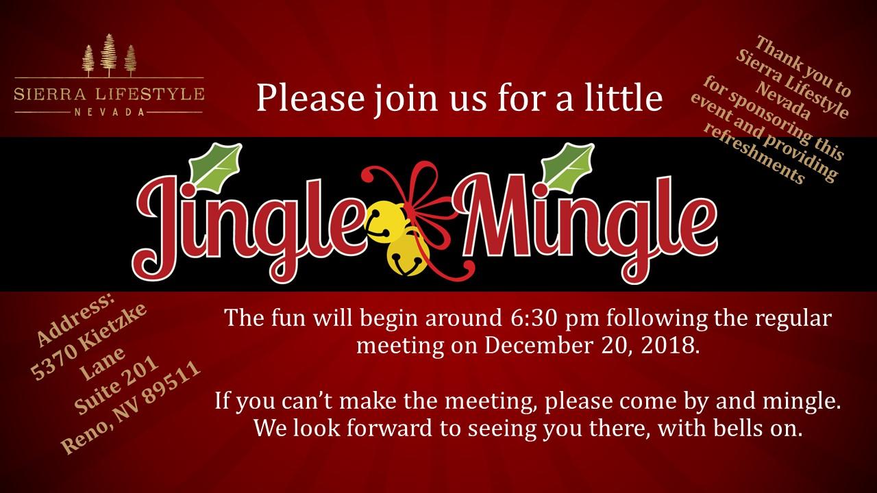 2018 Jingle and Mingle Holiday Social