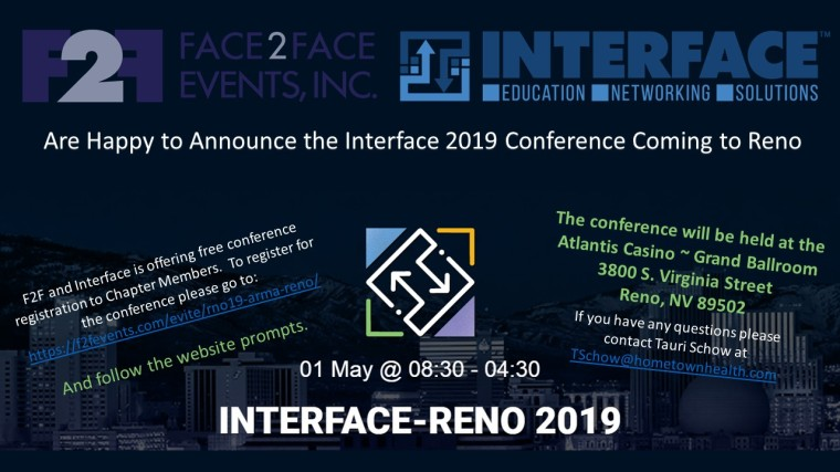 Interface Conference 2019