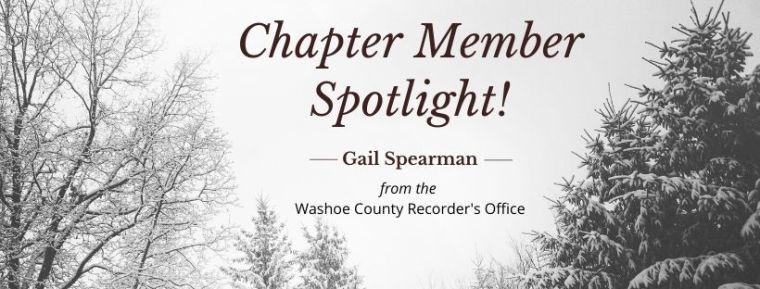 Winter Chapter Member Spotlight!