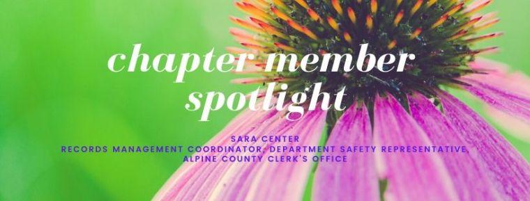 May Chapter Member Spotlight